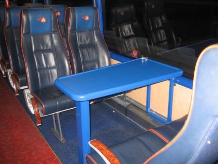 バスの車内にて撮影