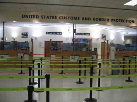 ダブリンにあるアメリカ合衆国入国審査場